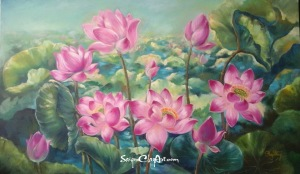 OP76_SaigonClayArt_PinkLotus_150x210