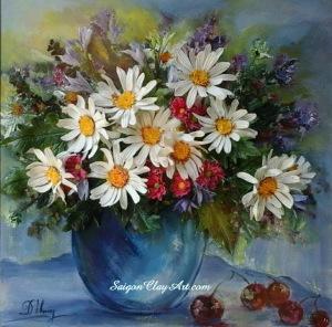cap133_saigonclayart_marguerite_flowers_55x55